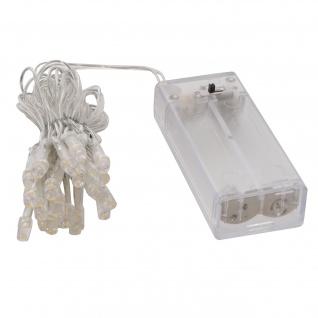 LED-Lichterkette, Timer Batteriebetrieben warmweiß 20 LEDs
