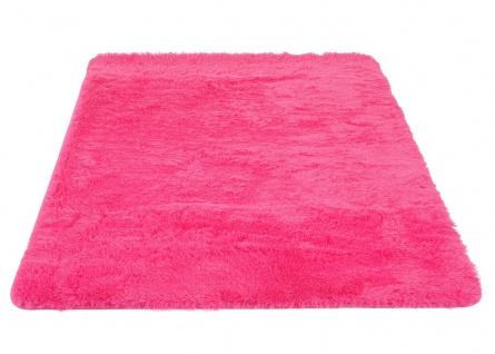 Teppich HWC-F69, Shaggy Läufer Hochflor Langflor, Stoff/Textil flauschig weich 160x120cm - Vorschau 3