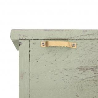 Schlüsselbrett HWC-A48, Schlüsselkasten Schlüsselboard mit Türen, Massiv-Holz ~ shabby grün - Vorschau 5