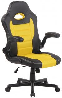 Bürostuhl CP115, Bürosessel Drehstuhl ~ gelb
