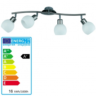 Reality/Trio Deckenleuchte Deckenlampe inkl. LED Leuchtmittel EEK A+ 4 Spots