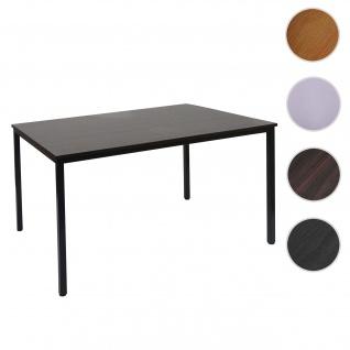 Schreibtisch Braila, Konferenztisch Bürotisch Seminartisch, 120x80cm MDF ~ Kirsche-Optik