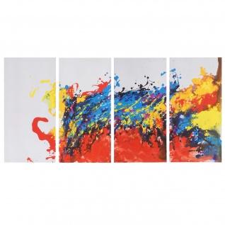 Ölgemälde Wave, 100% handgemaltes Wandbild XL, 120x60cm - Vorschau 1