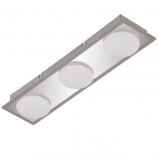 Briloner LED Deckenleuchte RL191, Deckenlampe Badlampe, inkl. Leuchtmittel EEK A+ 13, 5W 3-flammig - Vorschau 1