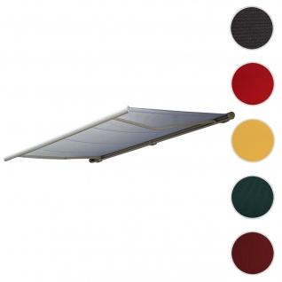 Bezug für Markise T122, Vollkassette Ersatzbezug Sonnenschutz 4x3m ~ Acryl creme