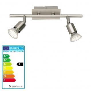 Reality|Trio LED Deckenleuchte Deckenlampe 2flammig incl. LM