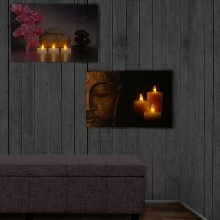 2x LED-Pinnwand, Pinboard Memoboard Leuchtbild, Timer 60x40cm - Vorschau 5