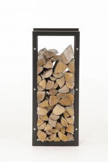 Kaminholzständer CP319, Feuerholzregal 25x40x150 Eisen - Vorschau 5