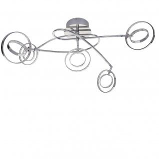 Reality|Trio LED Deckenleuchte RL145, Deckenlampe, inkl. LEDs EEK A+ 5-flammig, 20W