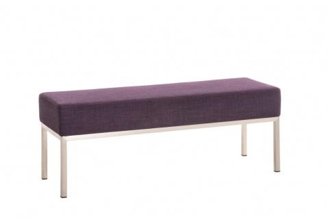 3er Sitzbank CP019, Polsterbank ~ 40x120cm, lila