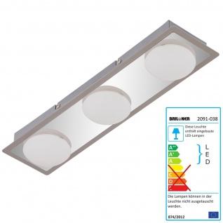 Briloner LED Deckenleuchte RL191, Deckenlampe Badlampe, inkl. Leuchtmittel EEK A+ 13, 5W 3-flammig - Vorschau 3
