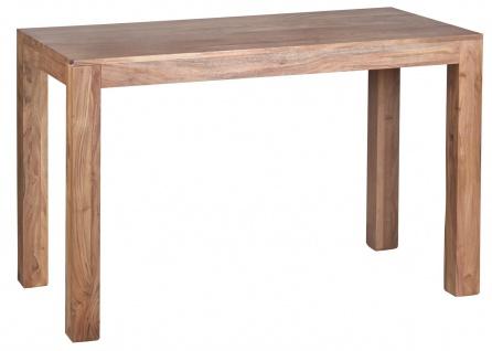 Esszimmertisch Konya, Tisch Esstisch, Akazie Massivholz, 76x120x60cm