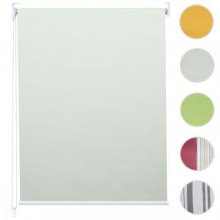 Rollo HWC-D52, Fensterrollo Seitenzugrollo Jalousie, Bohrmontage Isolation blickdicht 100x230cm creme