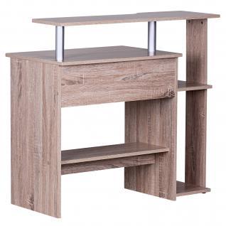 Schreibtisch A107, Computertisch Bürotisch, 90x94x48cm