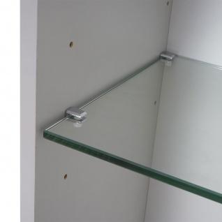 Hängeschrank HWC-B19, Midischrank Hochschrank Badezimmer Badmöbel, hochglanz 150x30cm - Vorschau 5