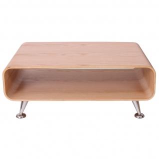 Couchtisch HWC-B97 XXL, Tisch Loungetisch Club Tisch, 33x90x60cm Eiche natur - Vorschau 3
