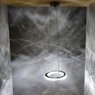 LED-Hängeleuchte HW152, Deckenlampe, Kristallglas 8W EEK A - Vorschau 4
