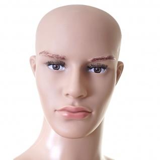 Schaufensterpuppe HWC-E37, männlich Mann Schaufensterfigur Puppe Mannequin Schneiderpuppe, lebensgroß beweglich 185cm - Vorschau 3