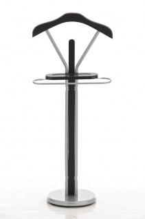 Herrendiener CP500, Kleiderständer Garderobenständer Garderobe schwarz