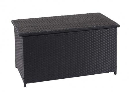 Poly-Rattan Kissenbox HWC-D88, Gartentruhe Auflagenbox Truhe - Vorschau 3