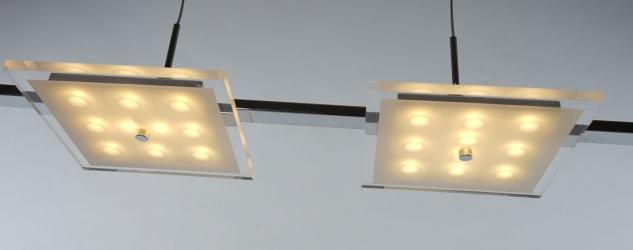 LED-Hängeleuchte HW177, Hängelampe Pendelleuchte Deckenleuchte, 4-flammig 4x5W EEK A - Vorschau 4