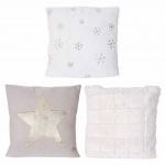 3er set deko kissen hirsche schrift sofakissen zierkissen mit f llung 45x45cm kaufen bei. Black Bedroom Furniture Sets. Home Design Ideas