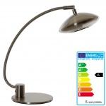 LED-Tischleuchte HW123, Büroleuchte Tischlampe, 1x5 Watt EEK A