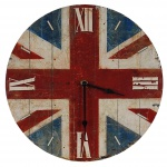 Uhr Wanduhr Quartzuhr Analog Union Jack