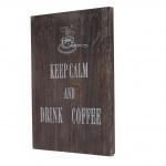 Wandschild Coffee, Dekoschild Holzschild, Shabby-Look Vintage