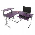 Schreibtisch Bürotisch Nevada lila