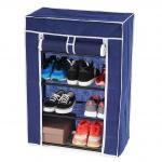 Schuhschrank Campingschrank Faltschrank 84x60x29cm blau