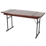 Gastronomie-Tisch Steyr, Biertisch Gartentisch, klappbar 148cm