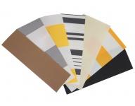 Farbmuster für Markisen mit Polyester- oder Acryl-Bezugsstoff