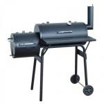 Barbecue-Smoker Grill Räucherofen, schwarz klein