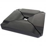 Schirmständer HWC-A40, Ampelschirmständer Marktschirmständer für Bodenkreuz, 80kg