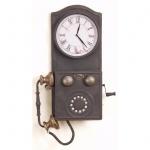 Wanduhr H133, Uhr, Metall, Nostalgie