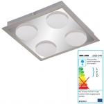 Briloner LED Deckenleuchte, Deckenlampe Badlampe, inkl. Leuchtmittel EEK A+ 18W 4-flammig