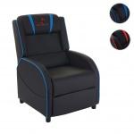 Fernsehsessel HWC-D68, HWC-Racer Relaxsessel TV-Sessel Gaming-Sessel, Kunstleder
