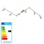 Reality|Trio LED Deckenleuchte Deckenlampe 6flammig incl. LM