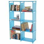 Bücherregal Gard, Regalsystem, je Box 31x39x28cm blau