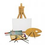 Acryl-Farben Staffelei-Set, Malset, Malen, Zeichnen
