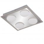 Briloner LED Deckenleuchte RL191, Deckenlampe Badlampe, inkl. Leuchtmittel EEK A+ 18W 4-flammig