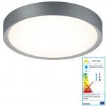 Trio LED Deckenleuchte RL175, Deckenlampe Badleuchte, inkl. Leuchtmittel EEK A+ 18W