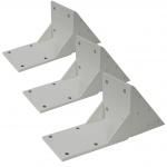3x Dachsparrenadapter für Kassetten-Markise T124