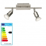 Reality|Trio LED Deckenleuchte Deckenlampe 2flammig incl. LM