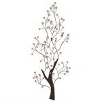 Wanddekoration H52, Wand-Deko, 118x50x4cm, Baum