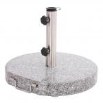 Sonnenschirm-Ständer Schirmständer Granit 30 kg marmoriert