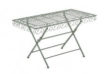 Gartentisch CP307, Metalltisch