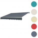 Alu-Markise T791, Gelenkarmmarkise Sonnenschutz 4, 5x3m