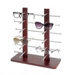 Brillenständer Vendee, Brillenhalter Brillendisplay für 12 Brillen, 42x39cm